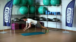 Explosive push-ups for home crossfit