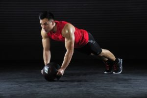 Effective exercises with a medball